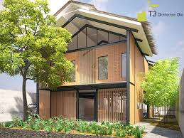 t3 architecture asia green industrial house vietnam