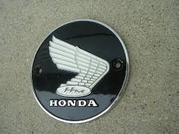 honda cb305 cb77 ca77 305 superhawk or dream right gas tank badge