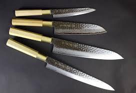 japanese folded steel kitchen knives japanese knives cocoroya niseko