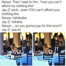 Kanye And Jay Z Meme - social media makes fun of kanye west s debt claim hiphopdx