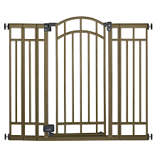 shop summer infant 48 in x 36 in bronze metal child safety gate at