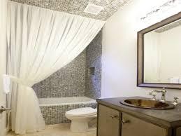 bathroom curtains for windows ideas shower curtain for small bathroom