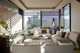 contemporary apartment living room white target bookshelves modern