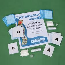 Population Genetics And Evolution Kit Carolina Com