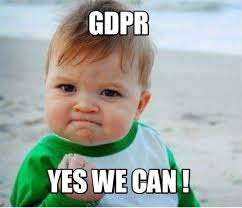 Yes We Can Meme - meme maker gdpr yes we can