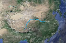 Kunlun Mountains Map 34 H Train Journey From Central China To Lhasa Tibet U2014 Steemit