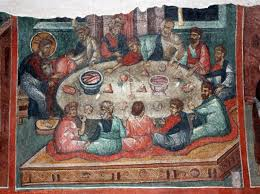the disembodied hand in da vinci s the last supper the last supper why did jesus wash the disciples feet