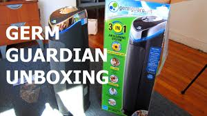 unboxing germ guardian ac5000 hepa filter with uv c light youtube