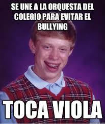 Memes De Bullying - bad luck brian memes quickmeme