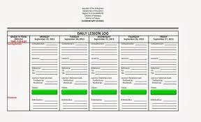 daily lesson log format english u0026 filipino language filesishare