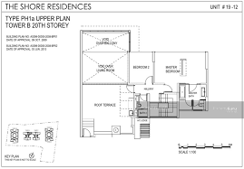 the shore floor plan the shore residences 81 amber road 4 bedrooms 2906 sqft