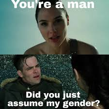 Just For You Meme - assume gender 5 did you just assume my gender know your meme