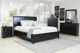 Bedroom Set With Media Chest Mor Furniture For Less The Black Sea Bedroom Mor Furniture For Less