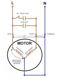 ac in single phase motor wiring diagram with capacitor start