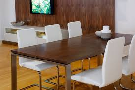 Dining Room Furniture Perth by Nuovo Marri Dining Table With Stainless Steel Base Bespoke