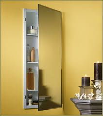 Bathroom Medicine Cabinets Ideas Stylized Installing Recessed Medicine Cabinet As Wells As A