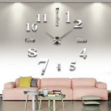 wall clock modern modern large wall clocks foter
