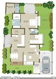 Bungalow Plans Bungalow Ground Floor Plan Bungalow Santa Monica