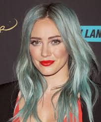 haircolor for forties see 17 celebs who ve rocked the pastel hair color trend hilary