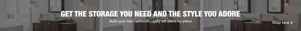 Build Your Own Bathroom Vanity Cabinet by Bathroom Suites Bathroom Vanities The Home Depot