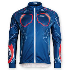 cycling jacket blue jacket biatex blue