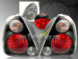 04 impala led tail lights matrix racing euro altezza tail lights clear projector headlights