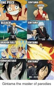 Memes One Piece - one piece bleach dragon ball kuroshitsuui gintama gintama isimli