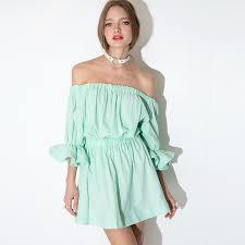 women dress summer 2015 cute mint green dress plus size fashion