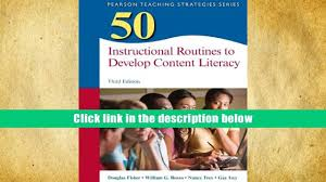 free download 50 instructional routines to develop content