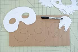 diy cardboard animal masks for halloween project nursery