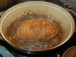 comment cuisiner un roti de dinde rôti de dinde forestier en cocotte aux portes du paradis