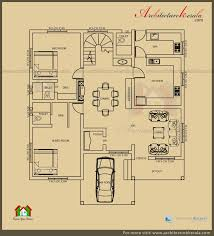 3 rooms house plan