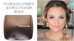 Hourglass Ambient Lighting Powder Review And Demo Misstango2 Youtube