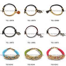 bracelet elastic cord images Wholesale handmade elastic cord metal friendship bracelets buy jpg