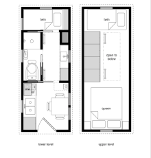 small houses floor plans a sle from the book tiny house floor plans 8x20 tiny house