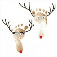 best 25 reindeer footprint ideas on pinterest christmas crafts