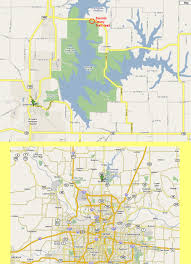 Mo Map Smithville Lake Trails