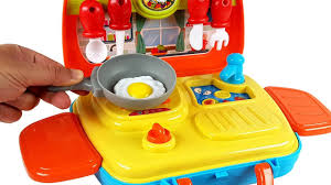 Kitchens For Kids by Amazing Cooking Playset Toy Kitchen For Kids Learn Colors With