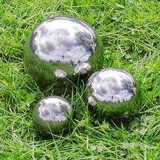 stainless steel garden statues lawn ornaments ebay