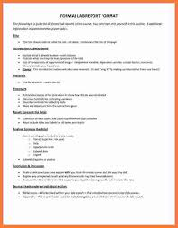 lab report template word 8 formal lab report exle marital settlements information