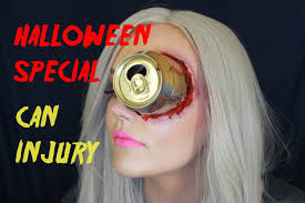 Halloween Devil Eye Makeup Halloween Sfx Make Up Tutorial Can Eye Injury Last Minute Idea