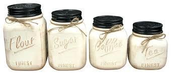 white canister sets kitchen kitchen kitchen canister sets ceramic and canisters set of 4 white