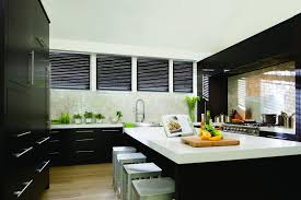 Kitchen Window Backsplash Decor Enchanting Levolor Blinds Installations In Small Black
