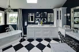 Blue And Black Bathroom Ideas by 26 Pictures Of Tranquil And Luxurious White Bathroom Designs