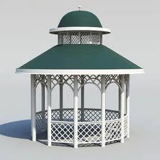 3d model wooden garden house 29 95 buy download
