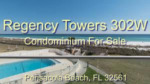 regency towers 302w condo pensacola beach for sale youtube