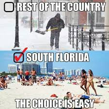Florida Winter Meme - ugh this place is the worst all the college kids and old people