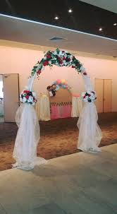 wedding arch kuching is in the air with 18 tables at our ucsi hotel kuching