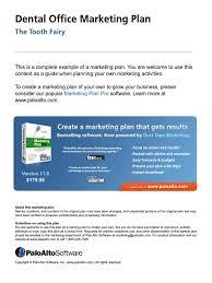 dental office marketing plan human tooth promotion marketing