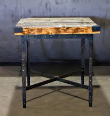 industrial style pub table pub table industrial dining room other by basin custom